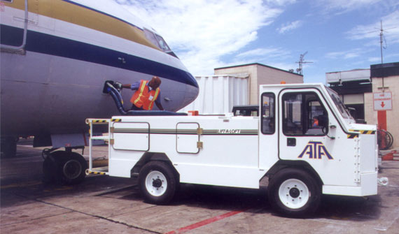 APV Lavatory Vehicle | Custom Solutions | Airline Ground Support Equipment (GSE)