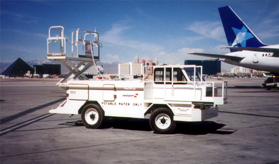 APV Potable Water Vehicle | Custom Solutions | Airline Ground Support Equipment (GSE)