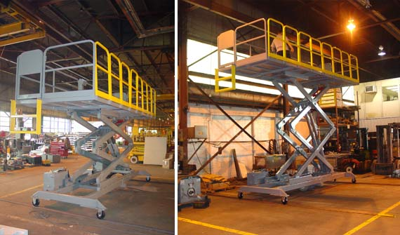 Custom Solutions | Aerospace Support Equipment | Lift-A-Loft