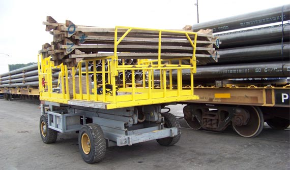 Timber Handling | Custom Aerial Lifts | Lift-A-Loft