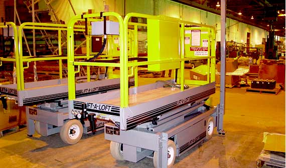 Custom Solutions | Hazardous Application Support Equipment | Lift-A-Loft