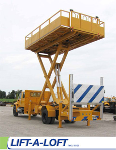 Vehicle Mounted Lifts | Aerospace Support Equipment | Lift-A-Loft