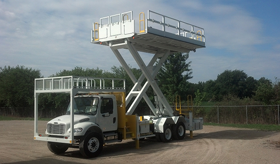 TMHCL20 SPL | Custom Solutions | Aerial Lift Work Trucks
