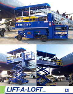 Disabled Passenger Lifts | Airline Ground Support Equipment (GSE) | Lift-A-Loft