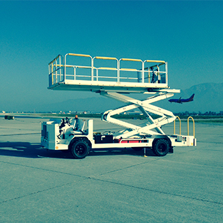gse airline scissor lift